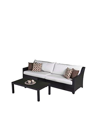 RST Brands Deco 2-Piece Sofa, Cream