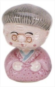 Grandma Porcelain Bobble Head #NSS1/GM - 1