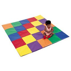 Children'S Fact. Patchwork Crawly Mat