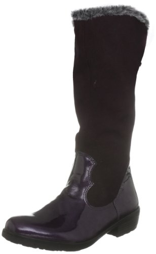 Ricosta Junior Chloe Purple Waterproof Boot 77239-362 10 Child UK, 28 EU