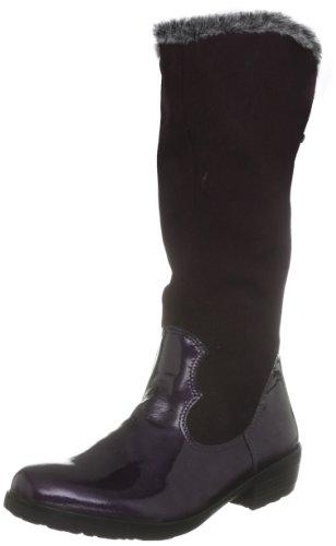 Ricosta Junior Chloe Purple Waterproof Boot 77239-362 10 Child UK, 28 EU