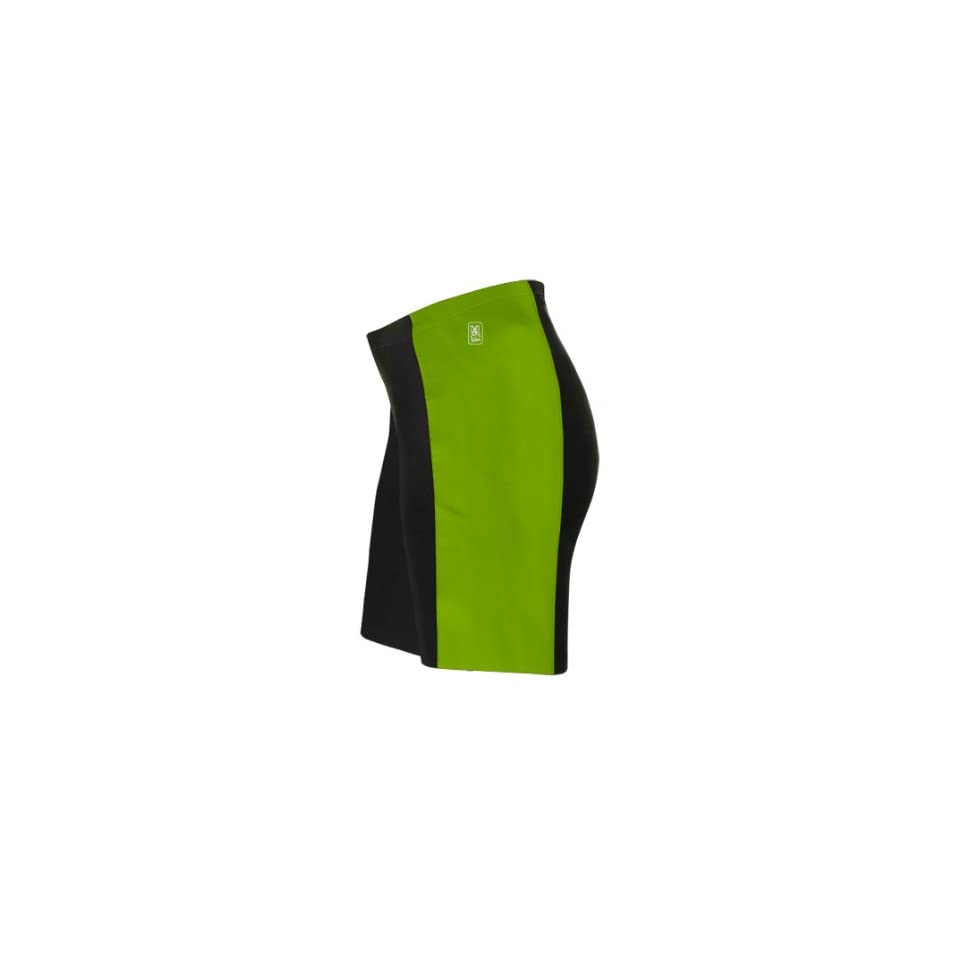Green Neon Triathlon Shorts for Women
