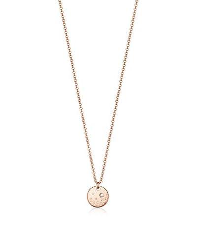 Esprit Conjunto de cadena y colgante Round Star Rose plata de ley 925 milésimas