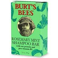 Burt's Bees Rosemary Mint Shampoo Bar with Oat Protein and Pro Vitamin B5, 3.5-Ounce Bars (Pack of 3)