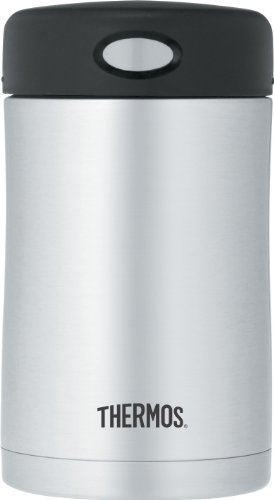 Thermos Vacuum Insulated Stainless Steel Food Container, 16-Ounce front-633527