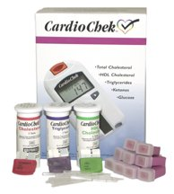 Image of Cardio Chek Starter Cholesterol Analyzer kit with cholesterol test strips by PTS Panels (B00408NZRS)