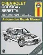 Chevrolet Corsica & Beretta Automotive Repair Manual : 1987 Thru 1996 : All Models, JON LACOURSE, JOHN H. HAYNES