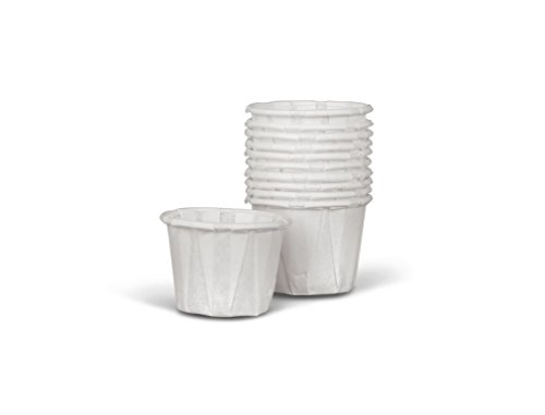 Medline NON024230 Disposable Paper Souffle Cup, 3.5 oz (Pack of 2500)
