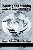 img - for Teaching and Studying Social Issues: Major Programs and Approaches (Research in Curriculum and Instruction) book / textbook / text book