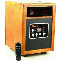 Dr Infrared Heater Quartz + PTC Infrared Portable Space Heater – 1500 Watt, UL Listed , Produces 60% More Heat with Advanced Dual Heating System. Discount