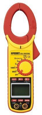 Sperry Instruments 623-DSA1010 Dwos Digisnap Digital Clamp Meter 1000A