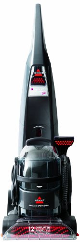 Bissell Deepclean Lift-Off Deluxe Pet Full Sized Carpet Cleaner, 24A4 back-7534