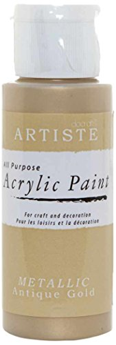 artiste-2-oz-acrylic-paint-metallic-antique-gold