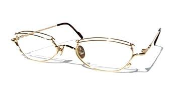 Petite Eyeglass Frames Ladies : Amazon.com: Gold 8064 Petite and Elegant KOURE EYEGLASSES ...