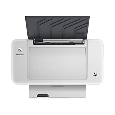 HP Deskjet 1010 Colour Inkjet Printer (White)