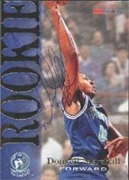 Donyell Marshall Minnesota Timberwolves 1995 Hoops Rookie Autographed Hand Signed... by Hall+of+Fame+Memorabilia