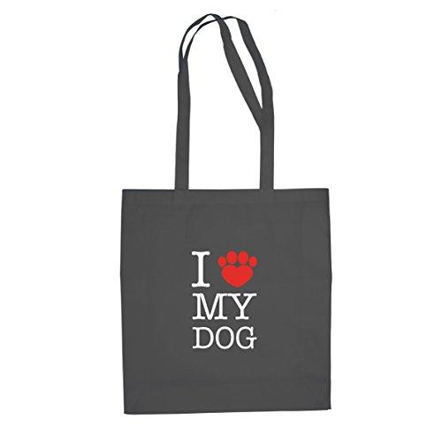 i-love-my-dog-stofftasche-beutel-farbe-grau
