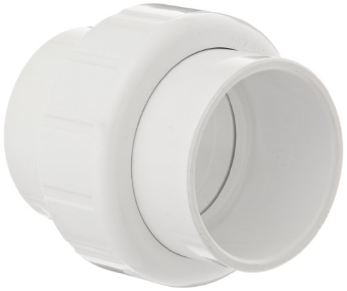 """Spears 497 Series Pvc Pipe Fitting, Union With Epdm O-Ring, Schedule 40, 3/4"""" Socket"""