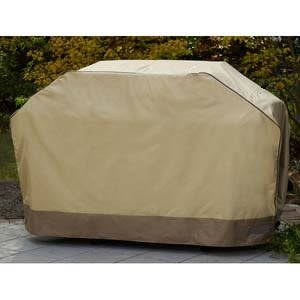 Medium 58 Inch Gas Grill Cover - Barbeque Grill Covers Weber (Genesis), Holland, Jenn Air, Brinkmann, Char Broil, & More. Thick Heavy Duty Premium BBQ Grill Cover Includes 90 Day No Questions Asked Money Back Guarantee with 36 Month Warranty