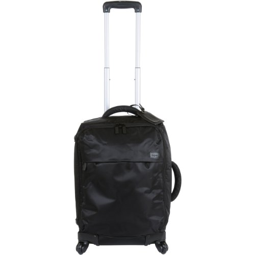 cheap lipault luggage upright 4 wheeled carry on trolly black 22x14x8 carry on luggage with. Black Bedroom Furniture Sets. Home Design Ideas