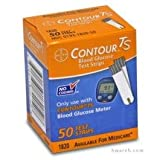 Bayer Contour TS Diabetic Test Strips - 50 Strips (Mail Order)