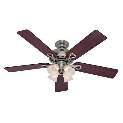 52 in. Antique Pewter Indoor Ceiling Fan (Selling Fan compare prices)