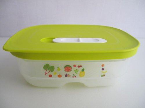 TUPPERWARE KlimaOase PrimaKlima Grün 800 ml FridgeSmart Plus Kühlschrank flach