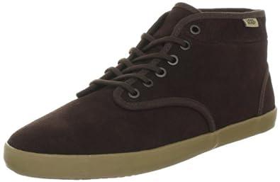 Vans Houston VNKT65J, Damen Klassische Sneakers, Braun ((Fleece) espresso), EU 36 (US 6)
