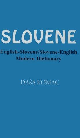 Slovene English Slovene Slovene English Modern Dictionary English and Slovene Edition