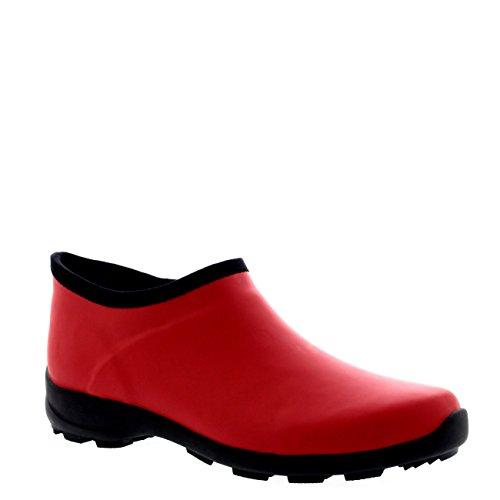 Donna Di Gomma Welly Scarpe Pioggia Neve Impermeabile Stivali Di Gomma - DRE37 ABL0162