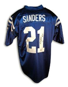 Bob Sanders Signed Indianapolis Colts Reebok Authentic Jersey