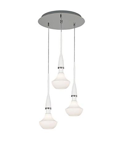 Minimal Lights Lámpara De Suspensión Glason Blanco