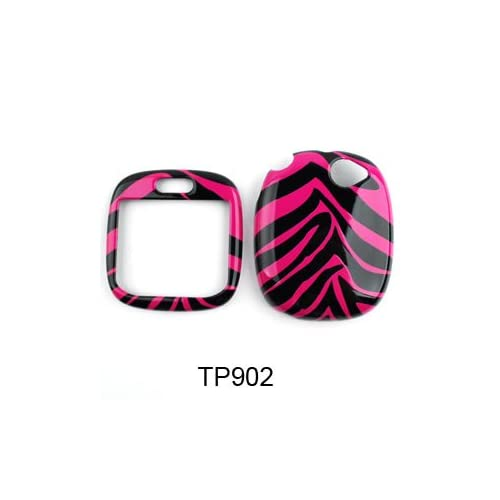 Sharp Kin One Pink Zebra Skin Hard Case,Cover,Faceplate,SnapOn,Protector