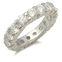 Jessica Simpson Replica CZ Wedding Band