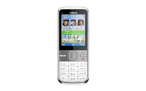 Nokia C5 SIM Free Mobile Phone - White