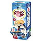 Coffee-Mate(R) Individual Nondairy Creamers, French Vanilla, Box Of 50