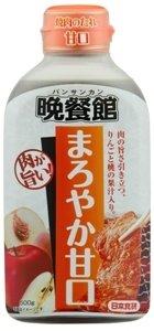 日本食研 晩餐館 焼肉のたれ 甘口 500g×12個(1ケース)