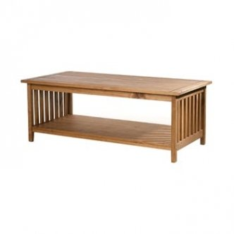 Santa Fe solid pine coffee table mission