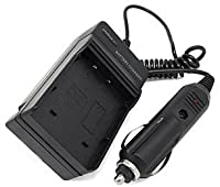 EPG KODAK KLIC-7001 / KLIC7001 Battery Charger Compatible with Kodak Easyshare M Series Camera Models with an extra EURO Plug and AC Car Adapter