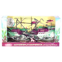 Action-Air Ornaments - Split Shipwreck (air pump required)