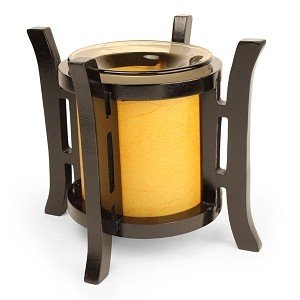Asian Wooden Electric Oil Warmer and Tart Burner BCD-542165