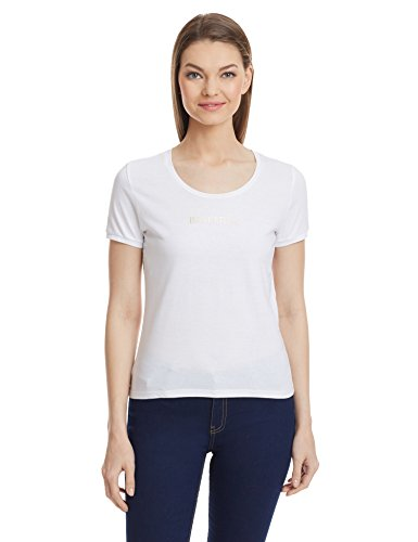 United-Colors-Of-Benetton-Womens-Solid-T-Shirt