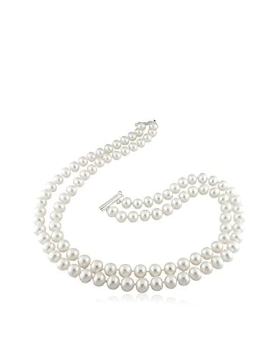 Michiko 2-Strand 9-10mm Freshwater Pearl Necklace
