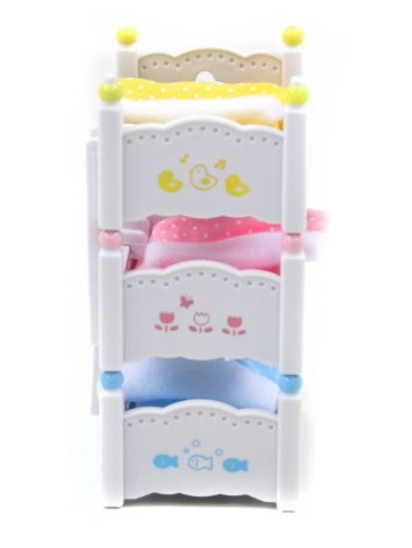 Calico Critters Triple Baby Bunk Beds New   eBay