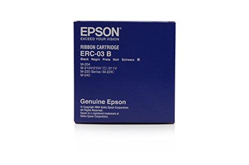 Casio CR 4630 - Original Epson / C43S015350 / ERC03B / 20021 Nylonband Black -