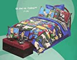 GI Joe vs Cobra full size bedskirt