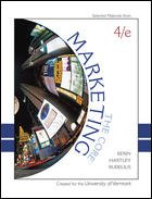 selected materials from: Marketing: The Core (Custom Edition for the University of Vermont)