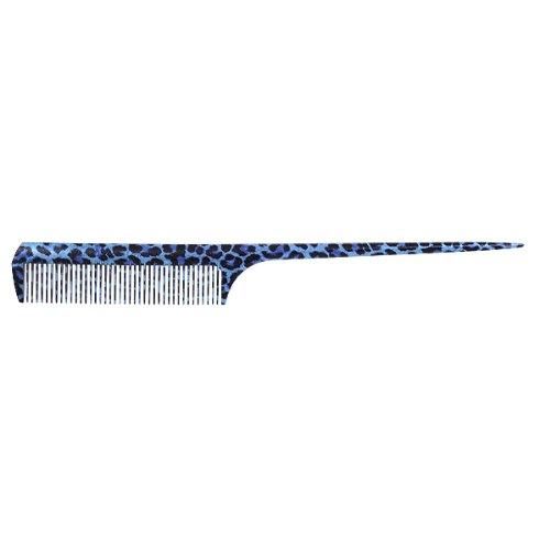 植原セル artDELRINNリング leopard ブルー 全長約21cm