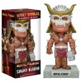 "Shao Kahn ~6.5"" Bobble Head Figure: Mortal Kombat Wacky Wobbler - 1"