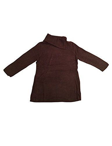 ann-taylor-loft-womens-brown-asymmetrical-cowl-neck-sweater-s-m-l-xl-xxl-medium